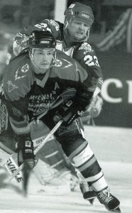 On ice action for the Steelers