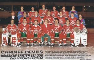 Cardiff Devils Champions