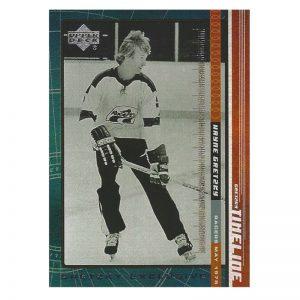 Gretzky UD Timeline No 4 Front