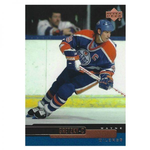 Gretzky UD Blue NYR 1998 - 99 Front