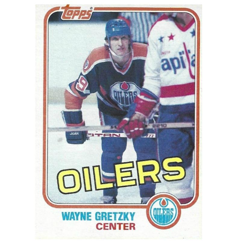 Gretzky Topps 1981