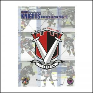 London Knights 2002 - 03 sq