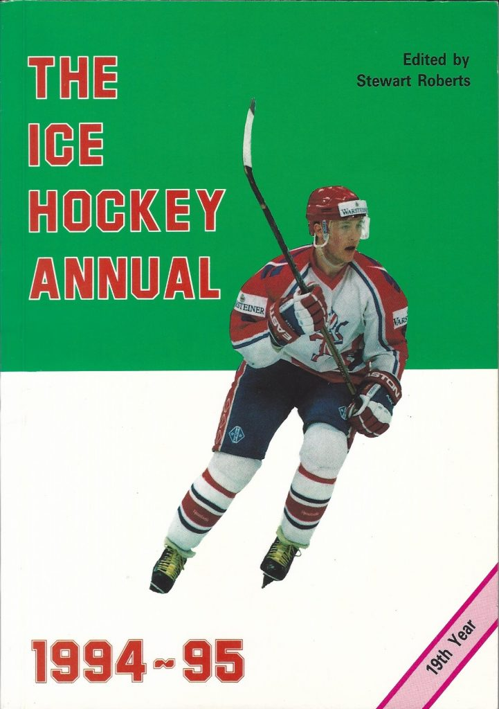 IceHockey Annual 1994 - 95