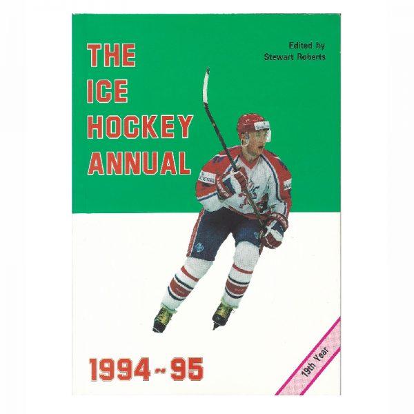 Ice Hockey Annual 94-95 Sq